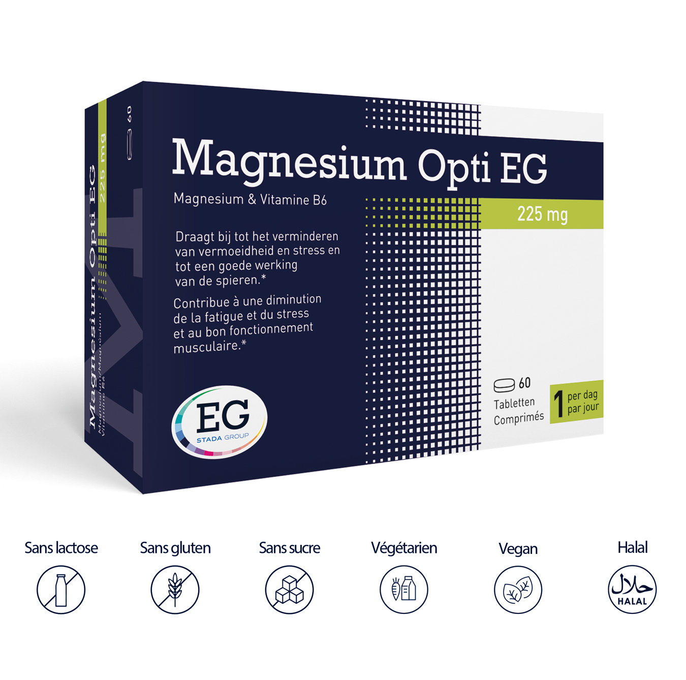 Fatigue et stress - <b>Magnesium Opti EG</b>